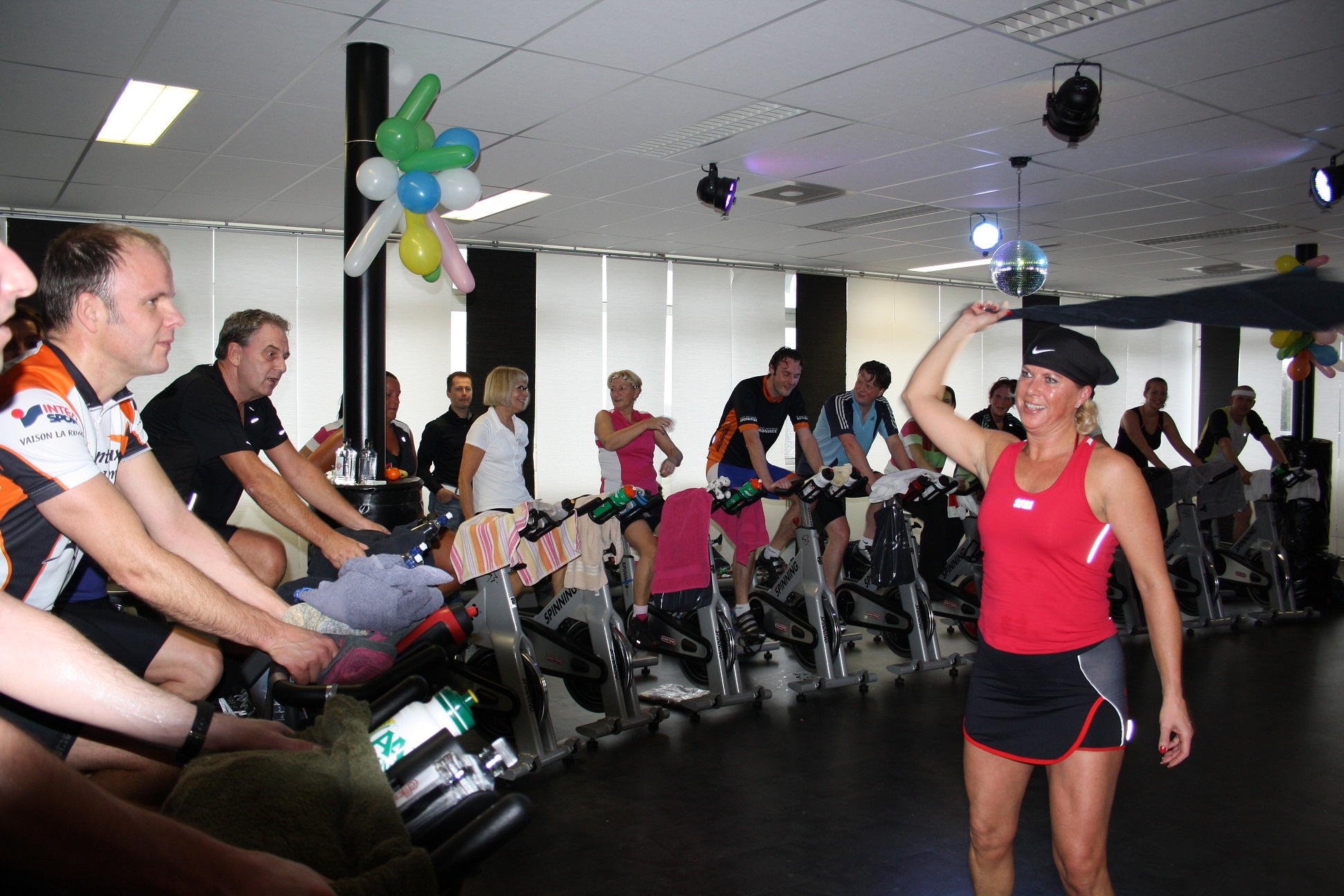 spinning event body business